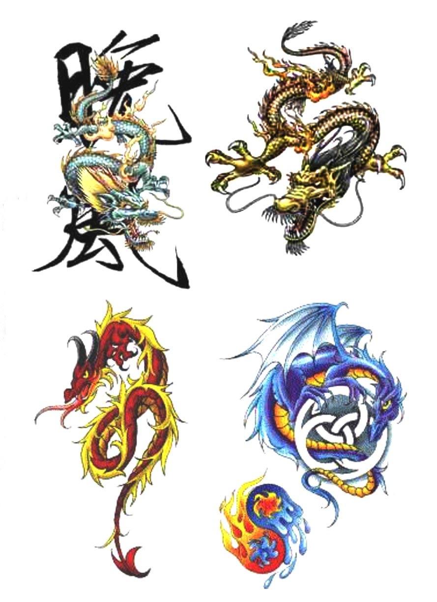 Тату эскизы дракон и значения