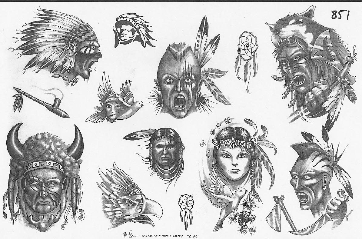 15Индейские татуировки и их значения